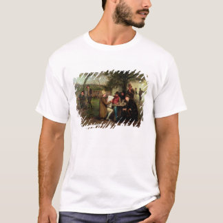 Ablesen der Nachrichten T-Shirt