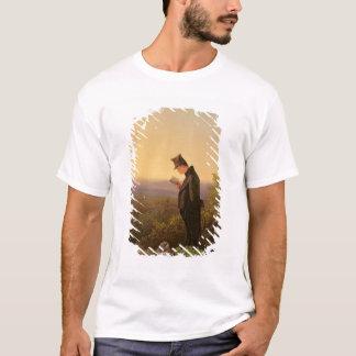 Ablesen des Breviary, der Abend T-Shirt