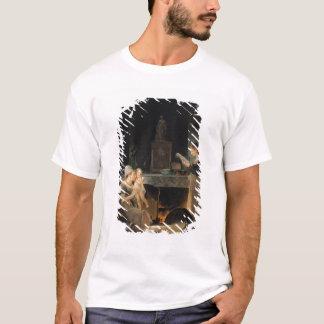 Ablesen des Briefs T-Shirt