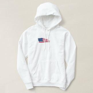 ABOOF 0011 USA FLAGGEN-T-SHIRT ZITAT HOODIE