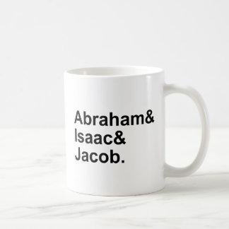 Abraham Isaac Jakob | 3 Patriarchen Judentum Kaffeetasse