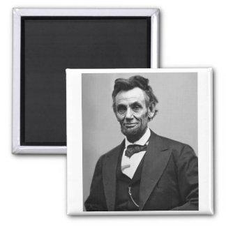 Abraham Lincoln Quadratischer Magnet
