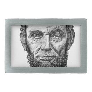 Abraham Lincoln Rechteckige Gürtelschnalle