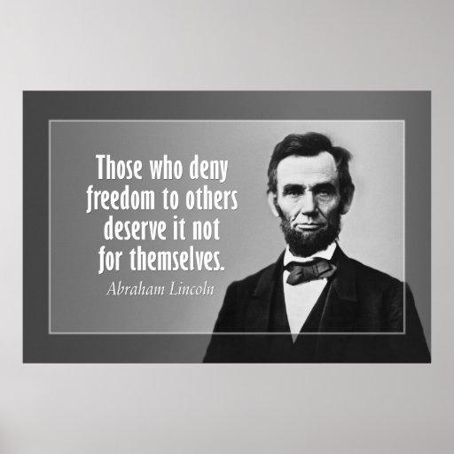 Abraham Lincoln Sklaverei