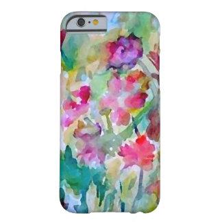 Abrégé sur aquarelle de jardin d'agrément de coque iPhone 6 barely there