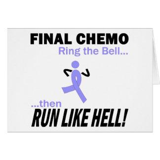 Abschließendes Chemo lassen sehr viel - Grußkarte