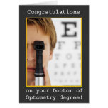 Abschluss - Augen-Doktor Optometrie Grußkarten