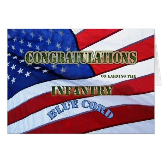 Abschluss, der blaue Zeremonie Blau-Schnur dreht Grußkarte