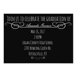 Abschluss-Einladung Karte