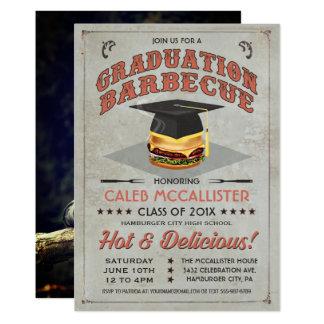 Abschluss-Einladungen | GRILLEN Party 12,7 X 17,8 Cm Einladungskarte