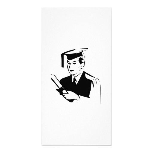 Abschluss Photo Grußkarte