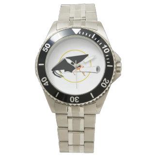 Abschluss-Kappe und Diplom (addieren Sie Armbanduhr