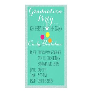 Abschluss-Party Einladung Bild Karte