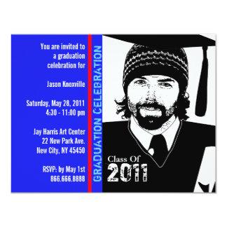 Abschluss-Party Einladungs-lustiges 10,8 X 14 Cm Einladungskarte