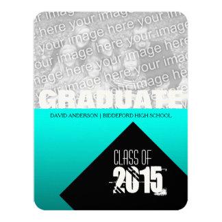 Abschluss-Party-Klasse von 2017 10,8 X 14 Cm Einladungskarte