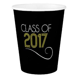 Abschluss-Party-Schalen - 2017 Pappbecher