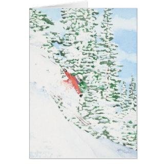 Abschüssiges Pulver Karte