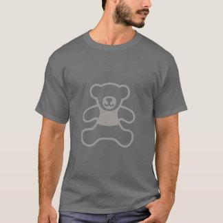 Absoluter Teddybär - hellgraues einfaches T-Shirt
