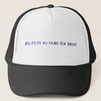 Abstimmung für Ben Truckerkappe