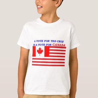 Abstimmung für Ted cruz für Kanada TRANSPARENT.png T-Shirt