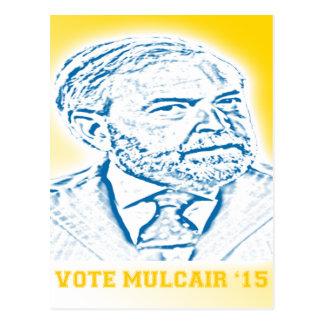 Abstimmung Mulcair '15 Postkarte
