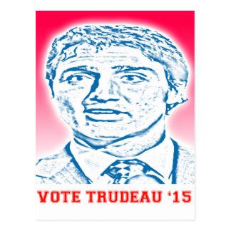 Abstimmung Trudeau '15 Postkarten