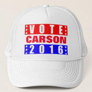 Abstimmungs-CarsonPräsidentschaftswahl 2016 Truckerkappe