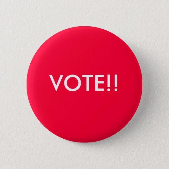 Abstimmungs-Knopf Runder Button 5,1 Cm