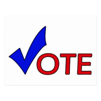 Abstimmungs-Postkarte Postkarte