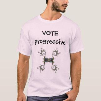 Abstimmungs-Progressist-Shirt T-Shirt