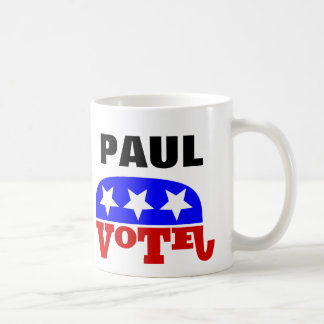 Abstimmungs-Rand-Paul-Republikaner-Elefant Kaffeetasse