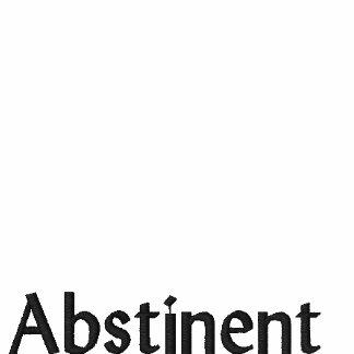 Abstinent gesticktes Shirt