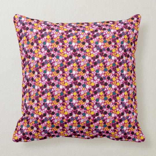 abstrack Blumenkissen Kissen