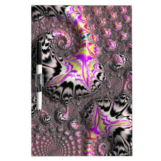 Abstract fractal patterns and shapes. Fractal Art Memo Boards