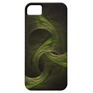 Abstract green fractal etui fürs iPhone 5
