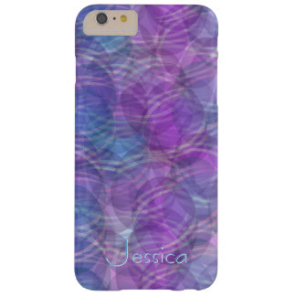 Abstract lila purple pattern design phone case