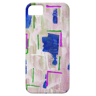 Abstract modern phone case etui fürs iPhone 5