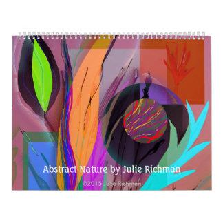 Abstrakt alle neue Digital-Kunst durch Julie Wandkalender