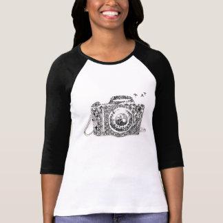Abstrakt: das Leben ist wie eine Kamera T-Shirt