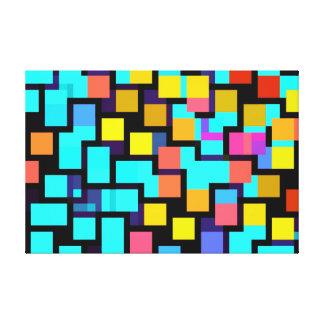 abstrakt galerie faltleinwand