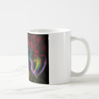 Abstrakt in Perfektion Pop Art Kaffeetasse