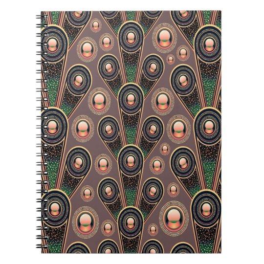 Abstrakt Kunst-Hintergrund-Rosa-Grün und Lila Notizbücher