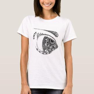 Abstrakt: lassen Sie das Auge schwimmen T-Shirt