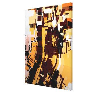 Abstrakte 145 leinwanddruck