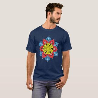 Abstrakte Blumen-Illustration T-Shirt