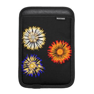 Abstrakte Blumen Sleeve Für iPad Mini