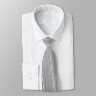 Abstrakte Bürste-Anschläge in hellgrauem Personalisierte Krawatten