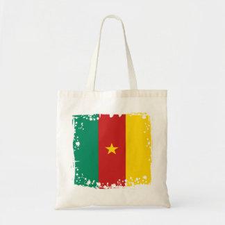 Abstrakte Cameroon-Flagge, Tasche Cameroon Afrika