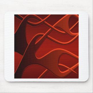Abstrakte coole Feuer-Mischung Mousepads