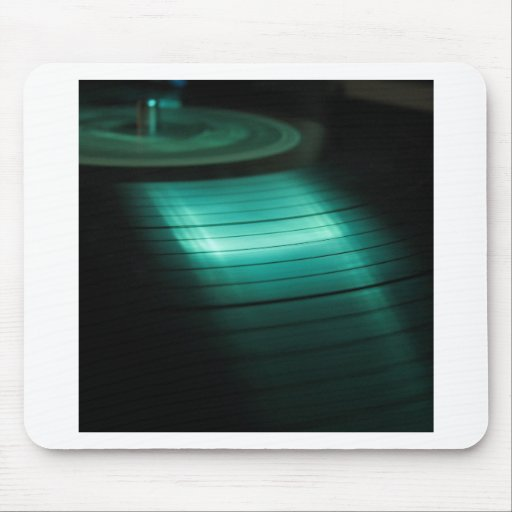 Abstrakte coole Grün-Aufzeichnung Mousepads